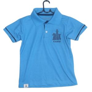 Camisa Polo infantil Meu xadrez