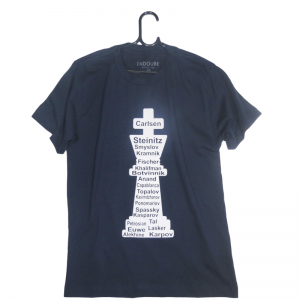 Camiseta Infantil Campeões mundiais de xadrez