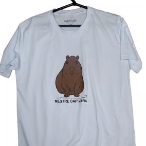 Camiseta Mestre capivara