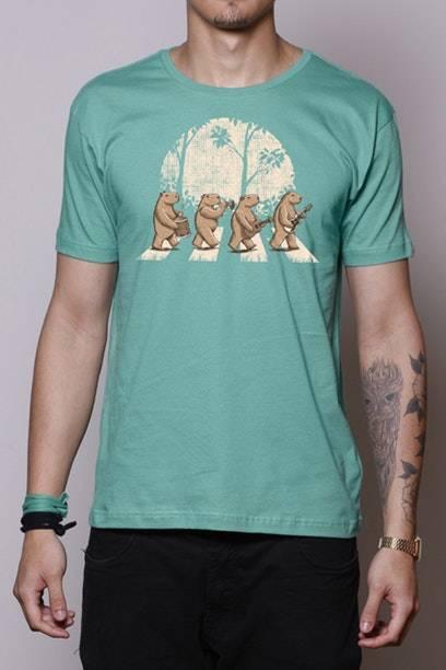 Camiseta Capybara's Road