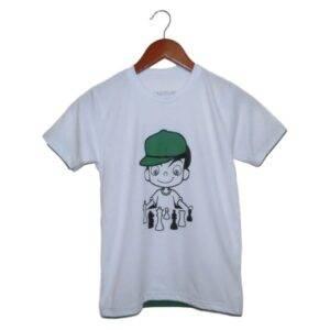 Camiseta Infantil Pequeno Enxadrista