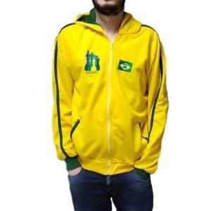 Jaqueta Xadrez Brasil Infantil
