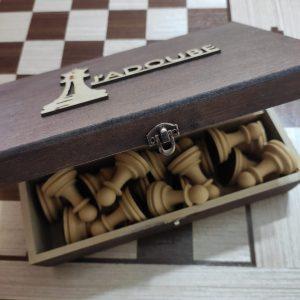 Caixa para peças de Xadrez